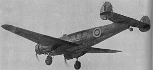 No. 24 Squadron RAF - W9104 a 24 Squadron Lockheed 10A Electra