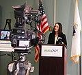 RMV Registrar Rachel Kaprielian, Springfield, MA, April 7, 2010 (4500849466).jpg
