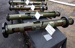 RPG-28 grenade launcher at Interpolitex-2016 01.jpg