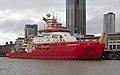 RRS Sir David Attenborough at Liverpool Cruise Terminal 4.jpg