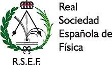 Resultado de imagen de Real Sociedad Española de Física