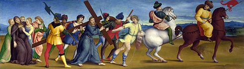 Raffaello Sanzio - The Procession to Calvary.jpg