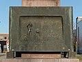 Rahlstedt-Merkurstatue Tafel an der Westseite.jpg