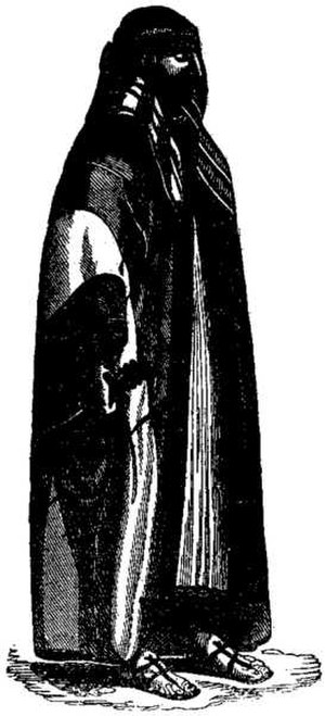 "Rahmah ibn Jabir Al Jalhami - A sketch of Rahmah ibn Jabir drawn by Charles Ellms in his 1837 book ""The Pirates Own Book"""
