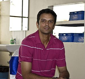 United Services Recreation Ground - Rahul Dravid (pictured) scored the final first-class century at the ground for Kent in 2000.