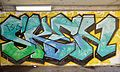 Railway bridge Wattmanngasse - graffiti 01.jpg