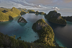Raja Ampat Islands - Panoramic view