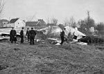 Ramp met Sabenavliegtuig bij Brussel, overzicht van de wrakstukken, Bestanddeelnr 912-1030.jpg