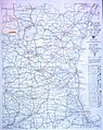 Rand McNally official 1919 auto trails map. District number 8, southern Wisconsin, northern... (NBY 1539).jpg