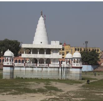 Jind - Bhuteshwar Temple at Rani Talab in Jind.