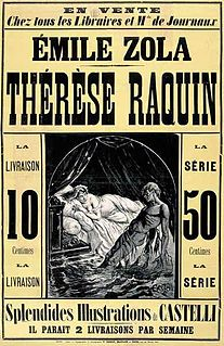 <i>Thérèse Raquin</i> novel by Émile Zola
