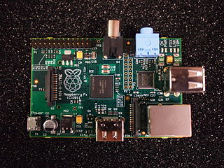 The Raspberry Pi is an ARM device