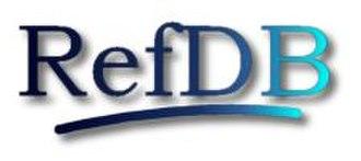 RefDB - Image: Refdblogo