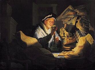 Rembrandt catalog raisonné, 1908 - Image: Rembrandt The Parable of the Rich Fool