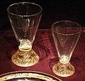 René lalique, bicchieri 'chasse, chiens nn.1 e 2', 1913-21.jpg