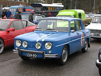 Sports sedan - 1964 Renault R8 Gordini sports sedan