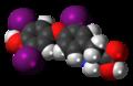Reverse triiodothyronine 3D spacefill.png