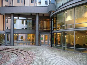 Riga Graduate School of Law - Courtyard
