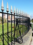 Swansea Museum boundary walls and rails