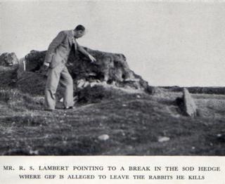 Richard S. Lambert English editor, biographer, historian and broadcaster