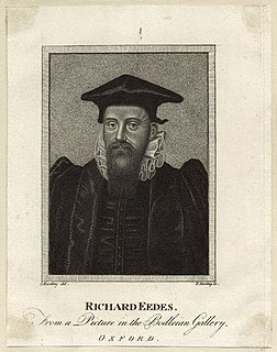 Richard Edes English churchman