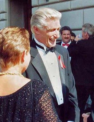 Richard Mulligan - At the 1991 Emmy Awards