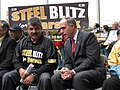 Richard Trumka and Bob Casey 2008.jpg