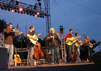 Kentucky Thunder - Ricky Skaggs and Kentucky Thunder performing on June 15, 2008.