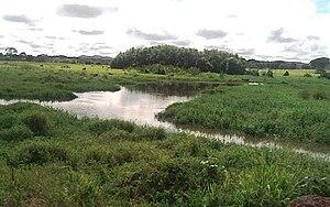 Español: Imagen del río Yocoima en su cuenca a...