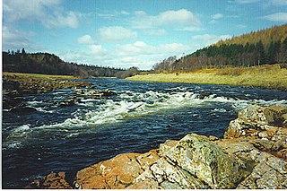 river in Aberdeenshire, Scotland