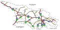 Road Map of Georgia (ka).svg