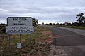 Road closed sign on the Balranald Road at Ivanhoe.jpg