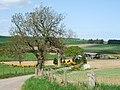 Road down from Foggie Brae to Auquhirie - geograph.org.uk - 808976.jpg