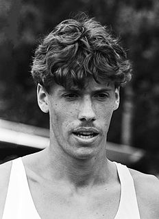 Rob Druppers Dutch middle-distance runner