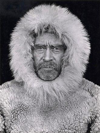 Robert Peary - Self-portrait at Cape Sheridan, 1909