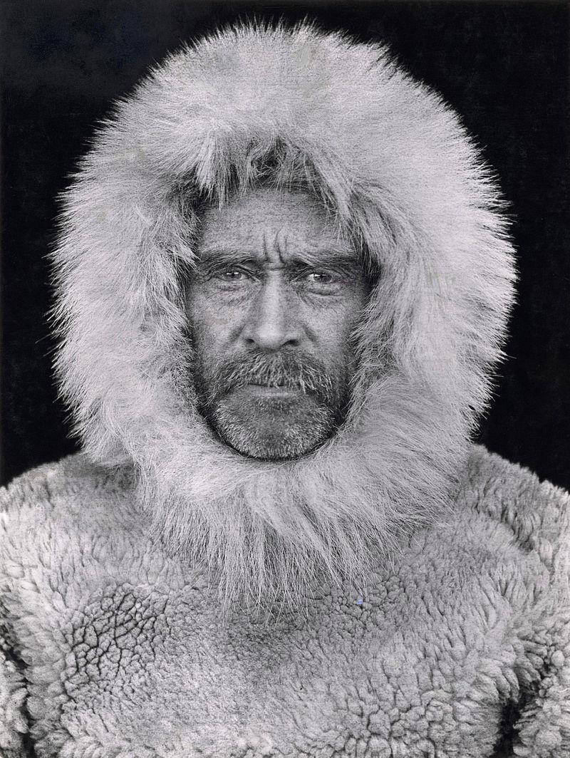 Robert Peary self-portrait, 1909.jpg