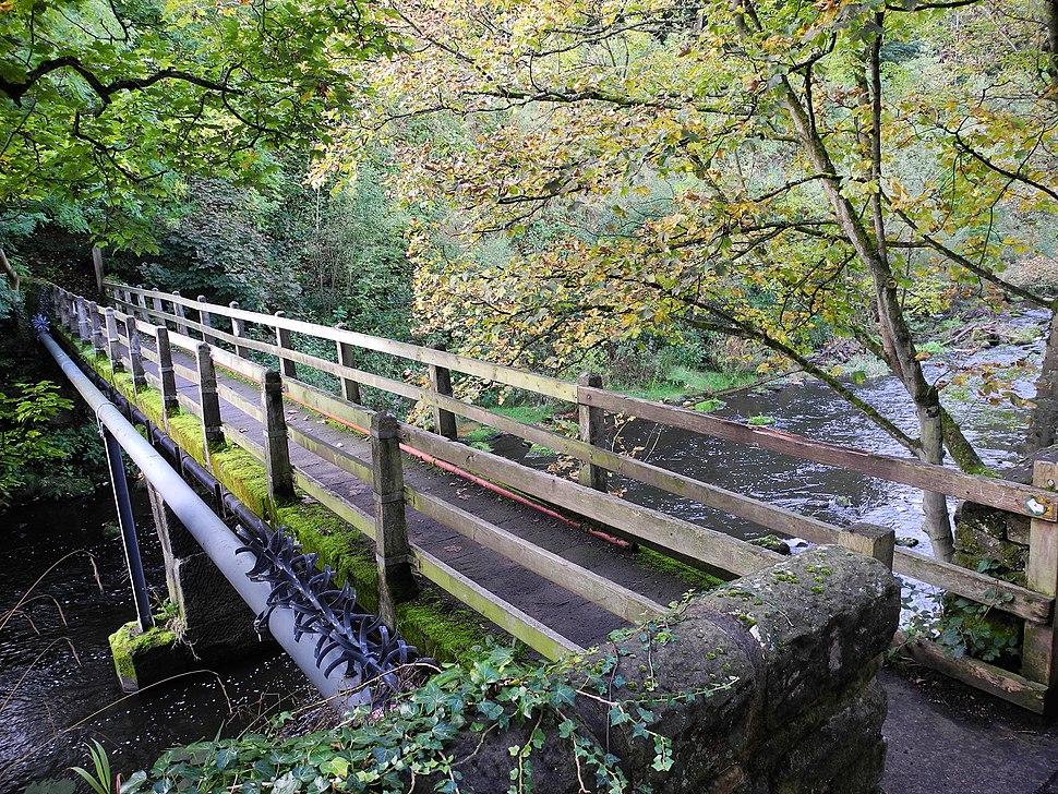 Rocher bridge, Beeley Wood