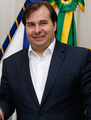 Rodrigo Maia como Presidente em exercício do Brasil.png
