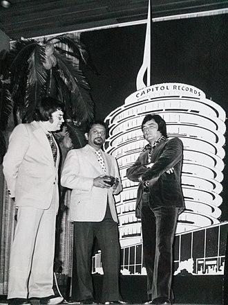 Jack Jersey - Roel Kruize, Bhaskar Menon and Jack Jersey, 1974