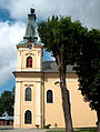 Rokitno, kościół par. p.w. Matki Boskiej Królowej Polski 02.JPG