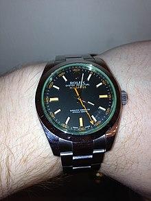 Rolex Milgauss Wikipedia