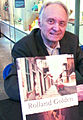 "Rolland Golden with his memoir, ""Life, Love, & Art in the French Quarter"".jpg"