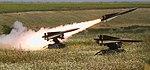 Romanian MIM-23 Hawk missile is fired from Capu Midia Training Area.jpg