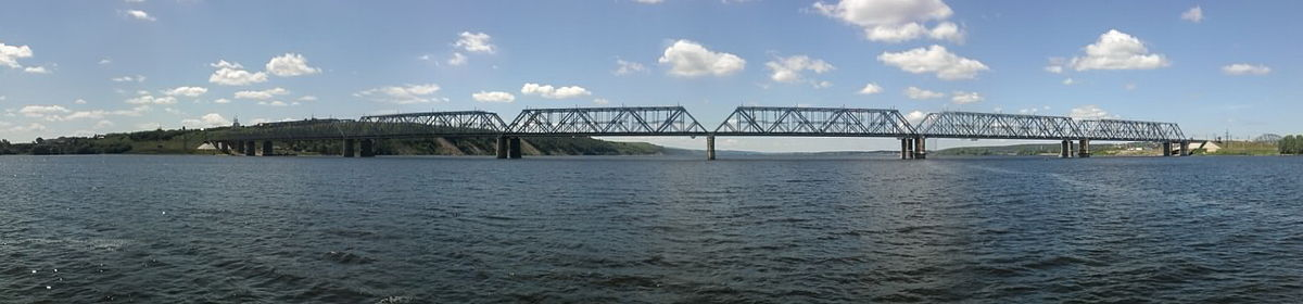 Мост с парома