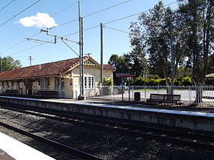 Rosewood Railway Station, Queensland, May 2012.JPG