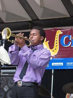 Roy Hargrove American jazz trumpeter