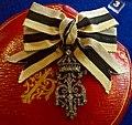 Royal Emblem of Tsar Ferdinand I of Bulgaria - Tallinn Museum of Orders.jpg