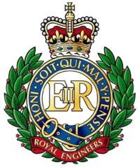 Insigne des Royal Engineers