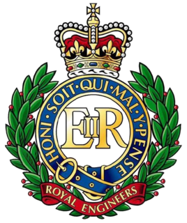 Royal Engineers corps of the British Army