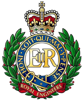 Royal School of Military Survey - Badge of the Royal Engineers
